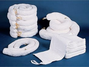 Oil Spill Absorbent Booms, Rolls, Pads & Sox